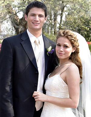 Nathan and Haley wedding
