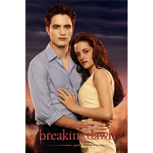 """New """"Breaking Dawn"""" Poster on sale at Play"""