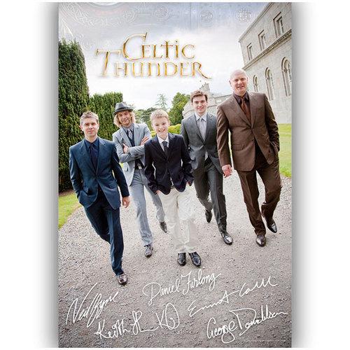 New Celtic Thunder Poster