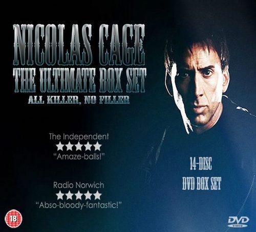 Nicolas Cage Ultimate 14 Disc DVD Box Set (All Killer, No Filler)