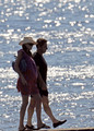 Nicolas Sarkozy and Carla Bruni on Vacation