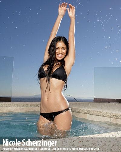 nicole scherzinger wallpaper with a bikini entitled Nicole