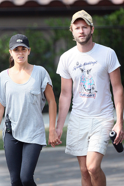 Nikki Reed Paul McDonald Wearing Wedding Rings nikki reed wedding photos
