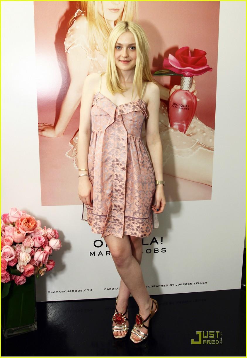 Dakota Fanning Oh, Lola Marc Jacobs Launch! Dakota Fanning
