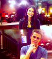 PAUL&NINA :) - paul-wesley-and-nina-dobrev fan art