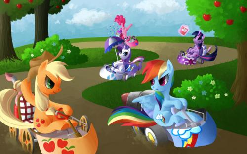 ngựa con, ngựa, pony Kart