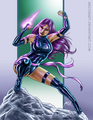 Psylocke - x-men fan art