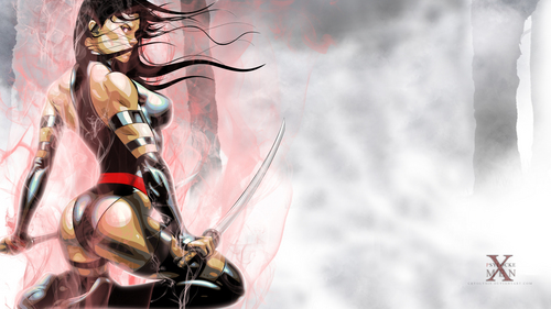 X-Men wallpaper entitled Psylocke