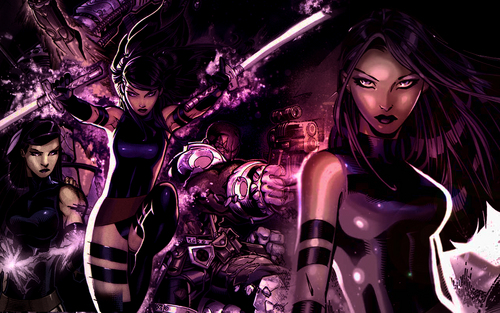 X Men Wallpaper Possibly With A Concert Called Psylocke