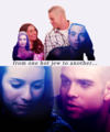Puck and Rachel. - rachel-and-puck fan art