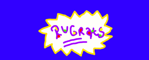 Old School Nickelodeon wallpaper titled Rugrats Logo