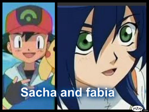 Sacha and fabia