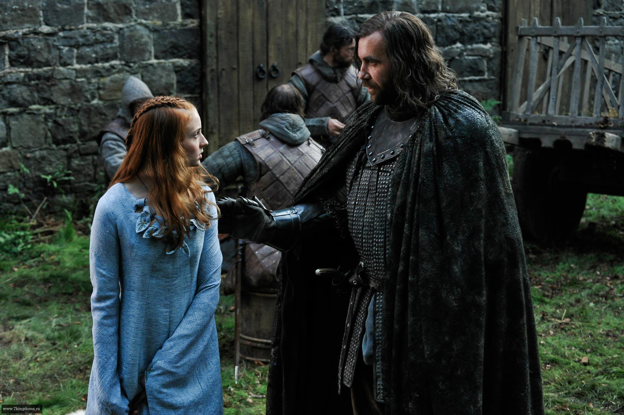 Sansa & Sandor - Game of Thrones Photo (25314482) - Fanpop