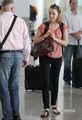Saoirse Ronan arrives at Toronto Airport, Sep 14