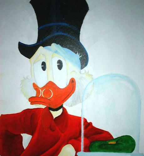 Scrooge McDuck Portrait
