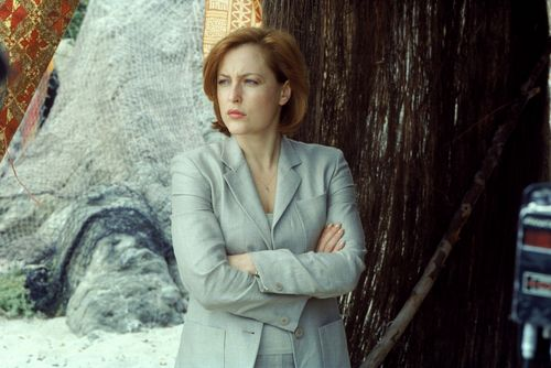 The X-Files wallpaper possibly containing a well dressed person and a business suit titled Scully