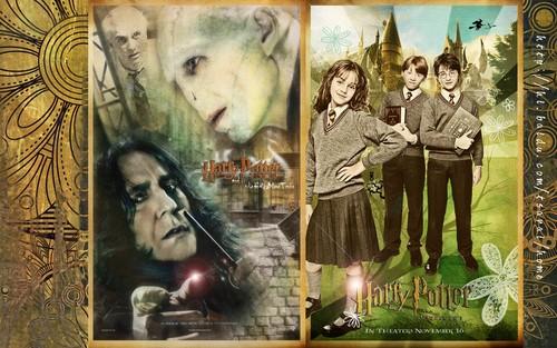 Severus Snape kertas-kertas dinding