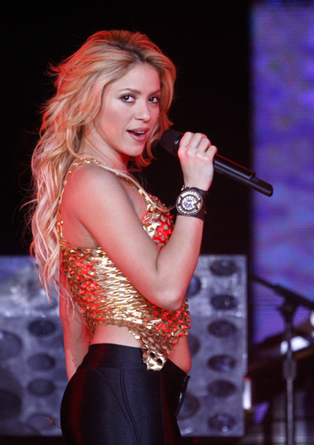 Shakira pregnant belly......