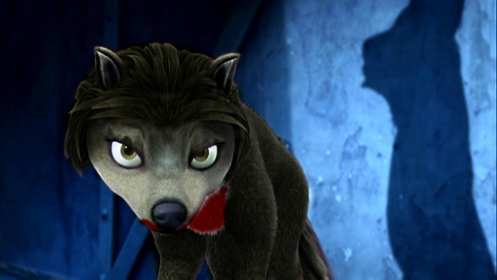 qq可怕狼头像