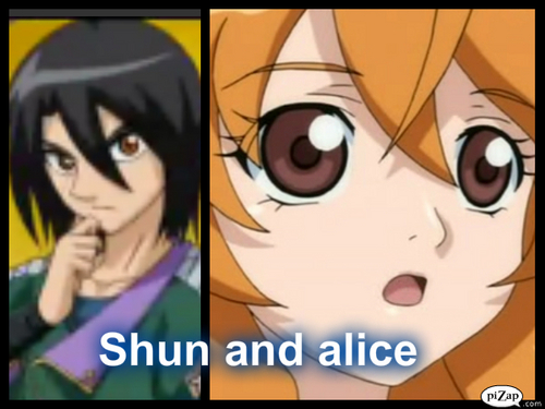 Shun and alice