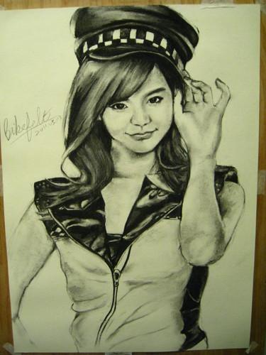 Sketch SNSD_Sunny