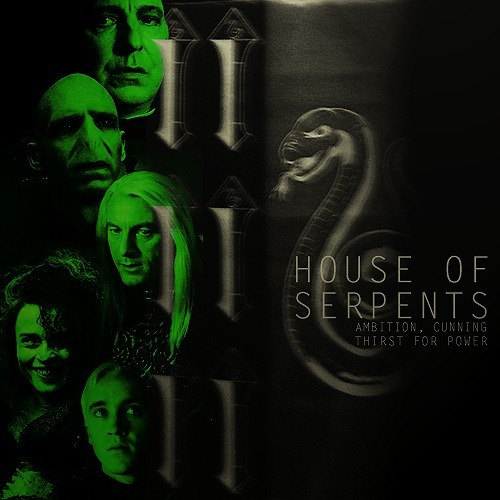 Slytherin House of Serpents