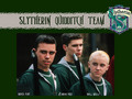 Slytherin Quidditch - slytherin wallpaper
