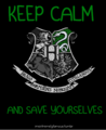 Slytherin - hogwarts-house-rivalry fan art