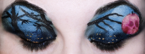 Snow White Eye Makeup Art