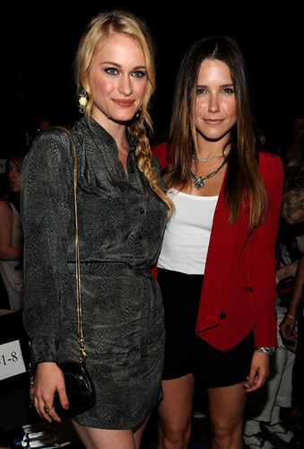 Sophia - Rebecca Minkoff - Front Row & Backstage - Spring 2012 Fashion Week - September 12, 2011