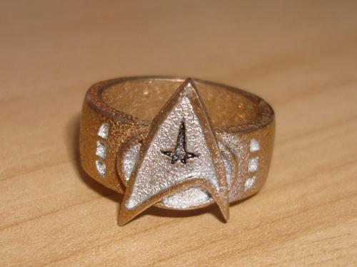 estrela Trek Ring por Batjeepster