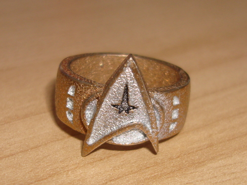 ngôi sao Trek Ring bởi Batjeepster