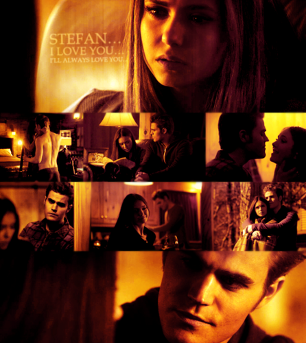 Stelena♥ - stefan-and-elena Fan Art