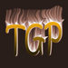 TGP icon fire text