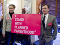 Tamara Attends A Planned Parenthood Federal Funding Hearing (03/01/11)