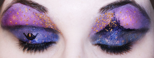 tangled Eye Makeup Art