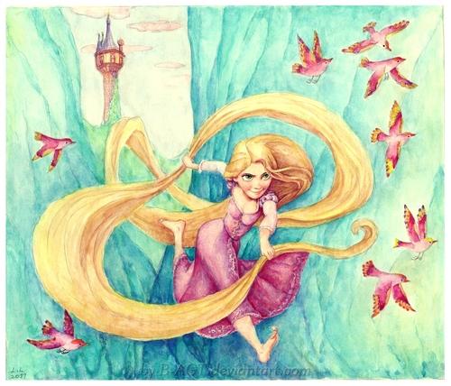 Tangled Girl