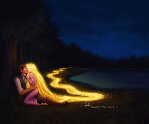 Рапунцель - Запутанная история Любовь