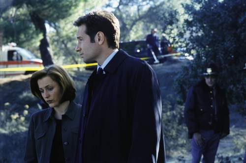 The X-Files wallpaper probably containing a business suit called The X-Files