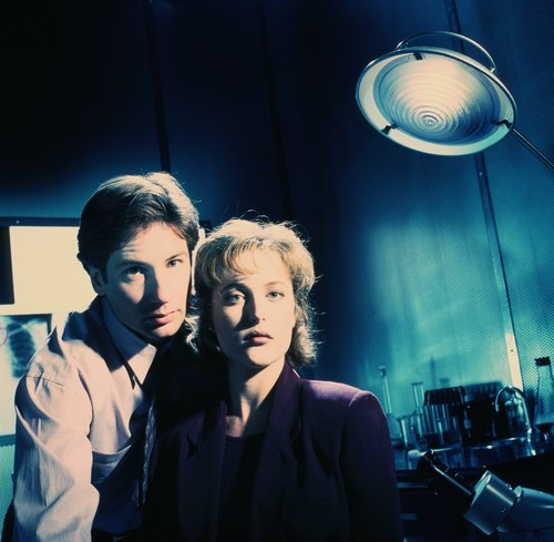 The X-Files wallpaper with a business suit called The X-Files