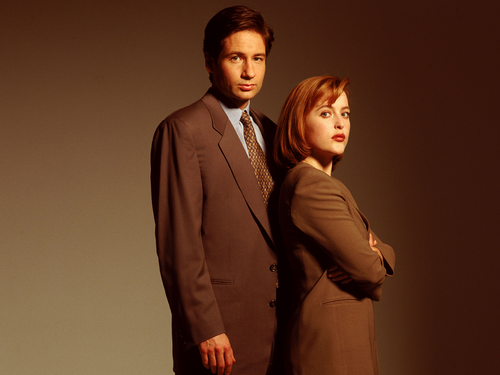 The X-Files wallpaper containing a business suit, a suit, and a three piece suit entitled The X-Files