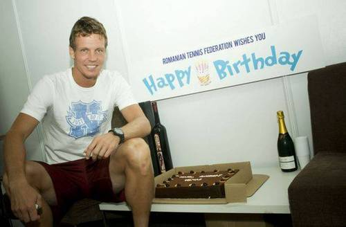 Tomas Berdych happy 26th birthday wishes romanian টেনিস federation