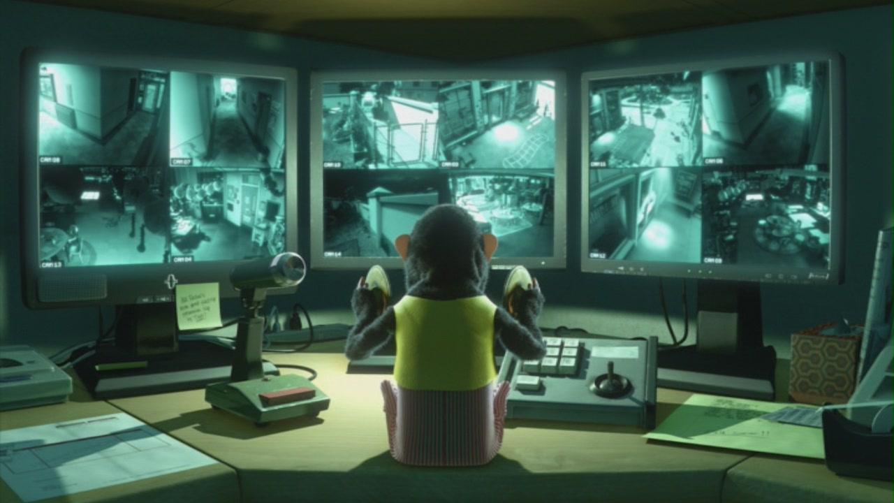Animated computer movie