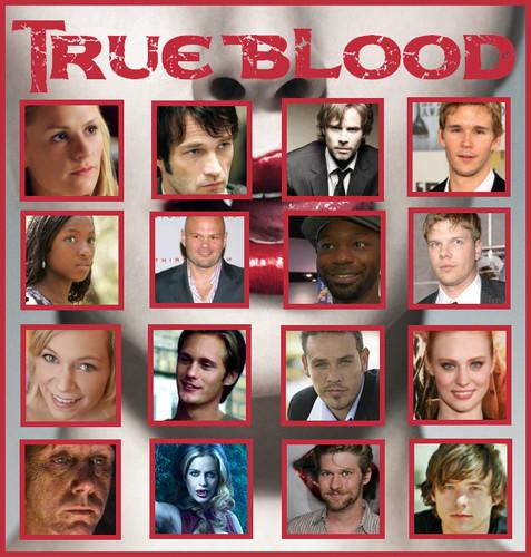 sangre verdadera