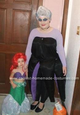 Ursula & Ariel costumes