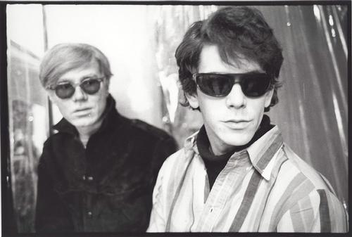 Andy Warhol & Lou Reed