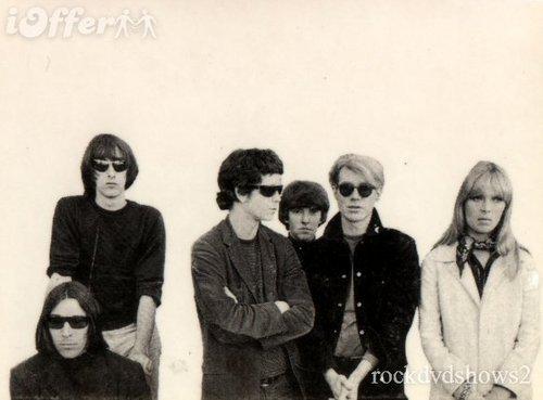 Velvet Underground & Nico with Andy Warhol