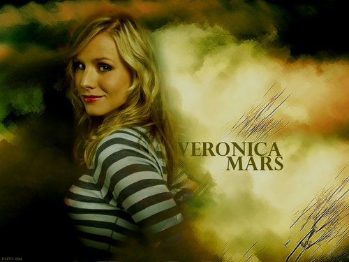 Veronica Mars দেওয়ালপত্র with a portrait titled Veronica Mars