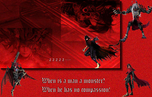 Vincent Valentine वॉलपेपर possibly containing a sign, a street, and ऐनीमे called Vincent Valentine वॉलपेपर