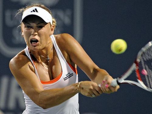 Caroline Wozniacki in Raging Power
